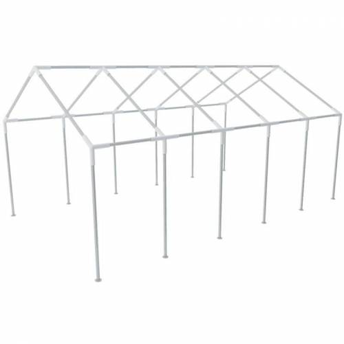 VIDAXL Stahlrahmen für Partyzelt 10x5m