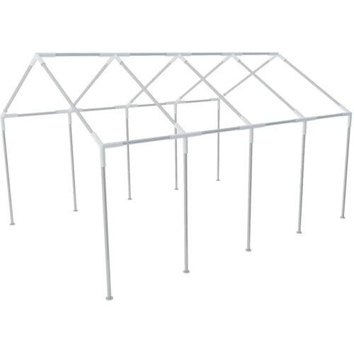 VIDAXL Stahlrahmen für Partyzelt 8x4m