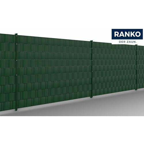 RANKO Sichtschutz stabil Streifen á 255 cm grün - Ranko