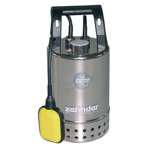 ZEHNDER Schmutzwasserpumpe Tauchpumpe Zehnder E-ZW 50-A2 Edelstahl 7.500 l/h