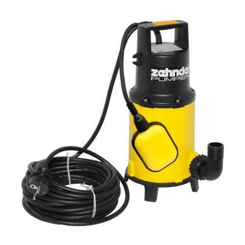 Zehnder Pumpen ZPK 40 A Schmutzwasser Tauchpumpe mit Schwimmerschalter
