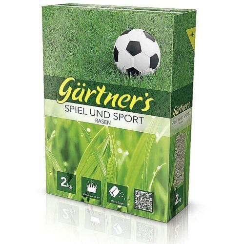 GARTNERS Premium Rasensamen Spiel und Sport 2 kg