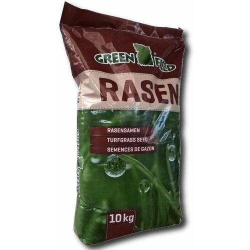 Greenfield Schattenrasen 10 kg Rasensamen Rasen Qualität Saatgut Gras