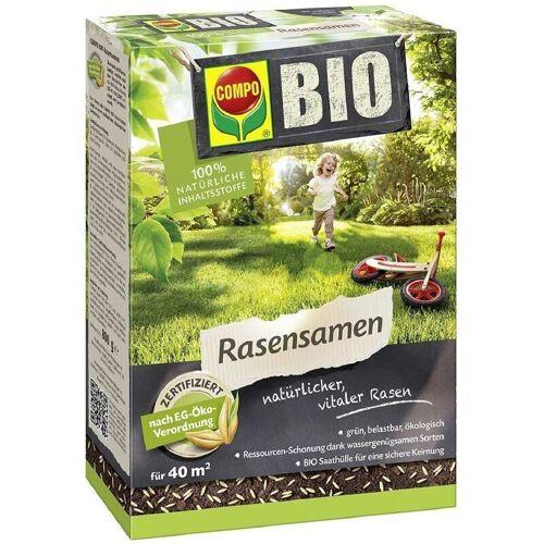 COMPO BIO Rasensamen 800 g für 40 m² wassergenügsame Sorten