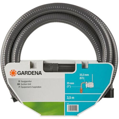 Gardena 1411-20 Sauggarnitur 3,5m Saugschlauch für Pumpen
