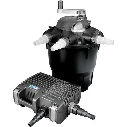 Wiltec - Hozelock Bioforce Druckteichfilter Set für Teiche bis 18000l,