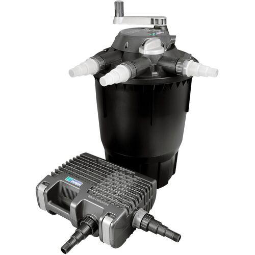 Wiltec - Hozelock Bioforce Druckteichfilter Set für Teiche bis 28000l,