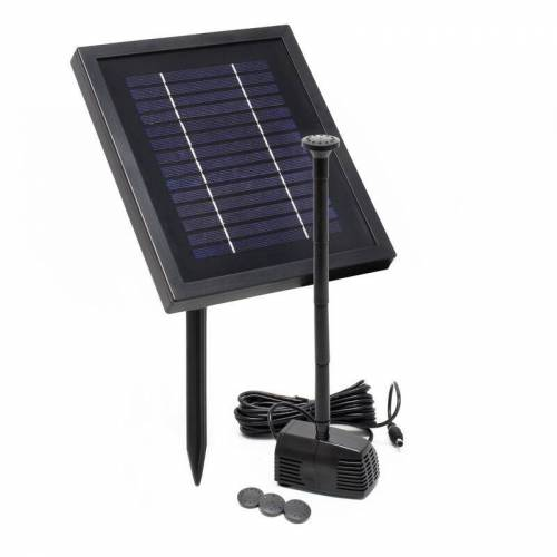Wiltec - Hozelock Solar Cascade solarbetriebene Springbrunnenpumpe