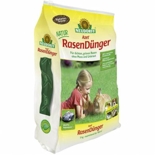 NEUDORFF Azet RasenDünger - 5 kg - Neudorff