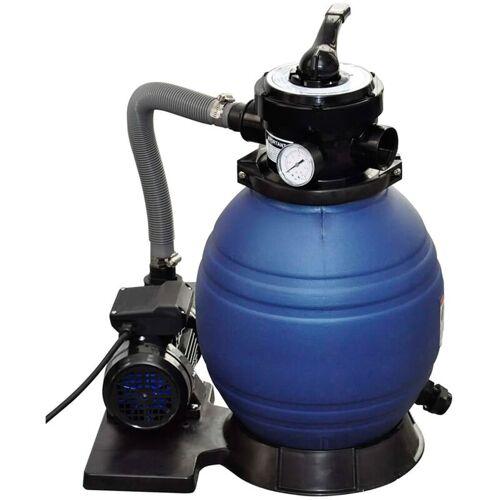 Vidaxl - Sandfilteranlage mit Pumpe 400W 11000L/h Pool Sandfilter