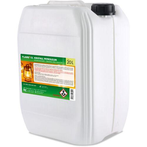 HöFER CHEMIE 4 x 20 Liter Petroleum Heizöl in Kanistern
