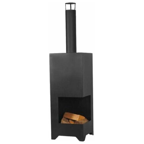 Feuer-anker - Gartenkamin Dallas Ofen Gartenofen Feuerschale Schwarz