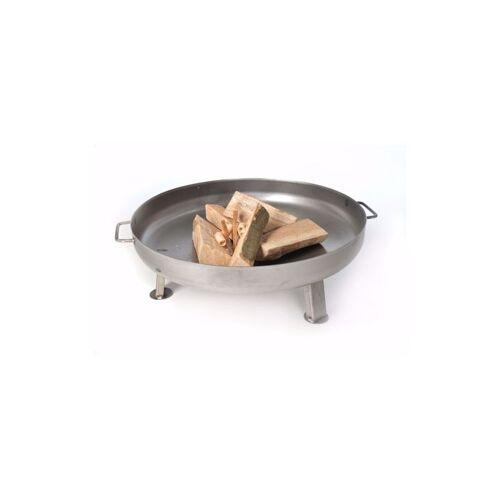 ACERTO® Feuerschale Edelstahl 80cm Feuerkorb Feuerstelle Terrassenfeuer