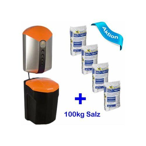JUDO i-soft 8203019 + 100 kg Salz Wasserenthärtungsanlage isoft
