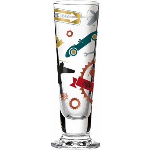 RIEDEL GLAS Ritzenhoff Black Label Schnaps, Schnapsglas mit Schnapsdeckel,