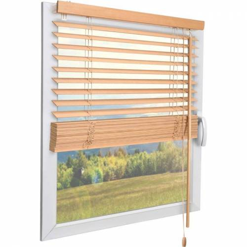 SOL ROYAL SolDecor JH3 Holzjalousie Eiche 70cm, 130 - Sol Royal