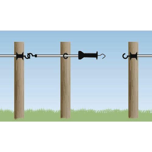 AKO - E-line Elektrozauntüre 4,5m (unter Zug bis zu 9 m), ideal für