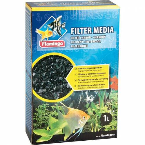 FLAMINGO PET PRODUCTS Filterkohle 450 g für Aquarien