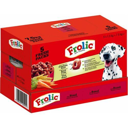 Frolic Ringos Hundefutter Trockenfutter mit Rind Karotten Getreide