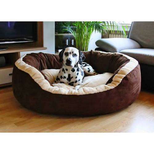 KNUFFELWUFF Hundebett Heaven aus Velours XXL 120 x 110cm - Knuffelwuff