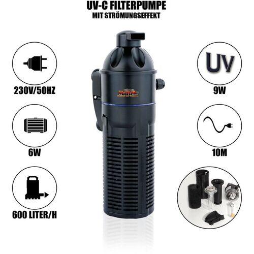 MAUK UVC Strömungspumpe Aquariumpumpe Wasserpumpe Filterpumpe Pumpe