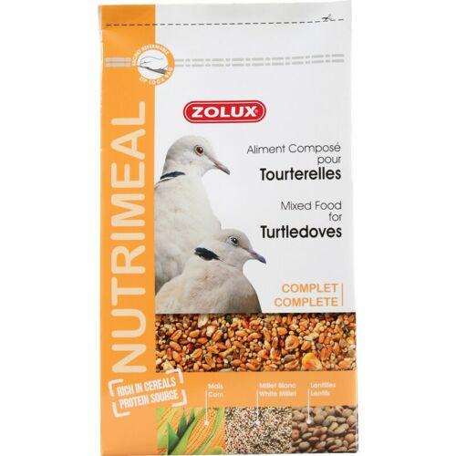 Zolux - Mischfutter für Turteltauben. nutrimeal. 2,5 kg. für Vögel
