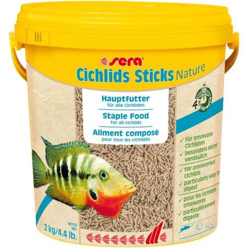 SERA Cichliden Sticks 10 Liter Eimer Fischfutter Cichlidensticks Aquarium