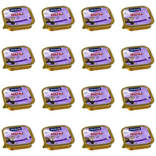 VITAKRAFT Premium Menü Nassfutter für Frettchen - 16x 100g - Vitakraft