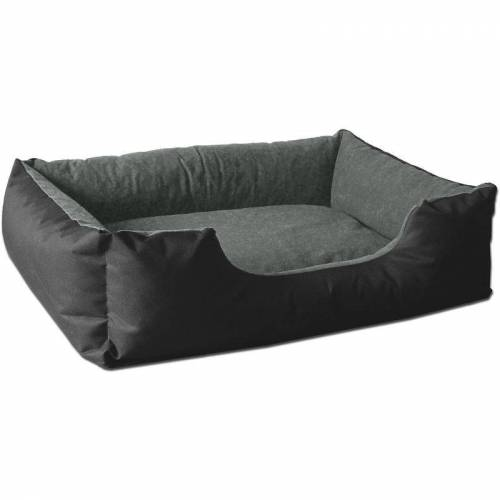 BEDDOG ® Hundebett LUPI, Hundesofa aus Cordura, Microfaser-Velours, waschbares