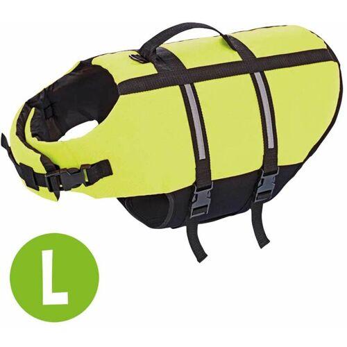 SCHECKER Hunde-Schwimmweste, Größe L - SCHECKER