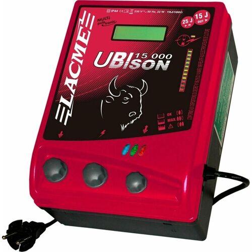 LACME Weidezaun-Netzgerät UBIson 15000, 15 Joule + Zaunprüfer gratis - LACME