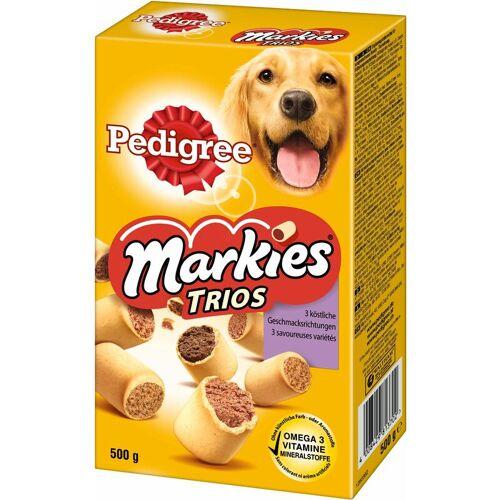MARS Pedigree Snack für Hunde Markies Trios 3 Geschmacksrichtungen 500g