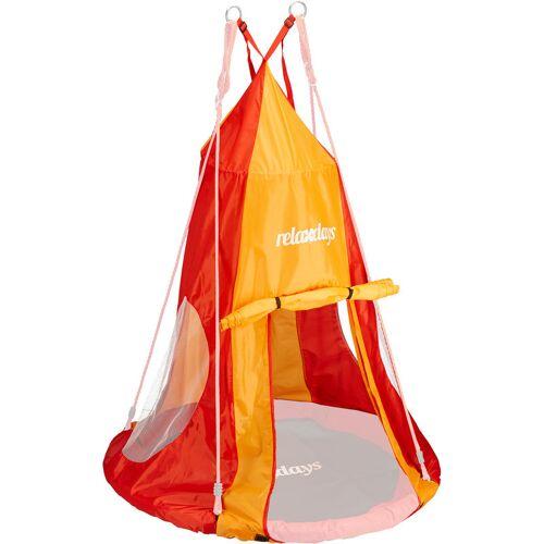 RELAXDAYS Zelt für Nestschaukel, Bezug für Schaukelsitz bis 90 cm, Rundschaukel