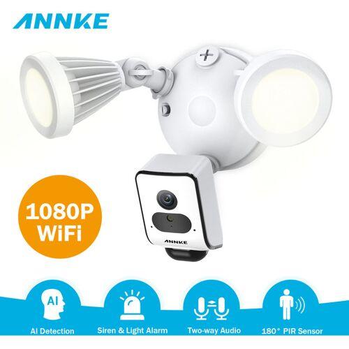 ANNKE HD 1080P Floodlight Drahtlose Überwachungskamera 2 SMD-LEDs