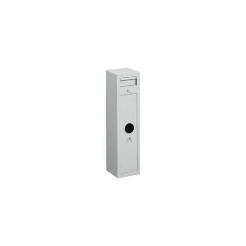 Certeo - Einwurftresor - mit Einwurfklappe - Außen-HxBxT 1000 x 250 x