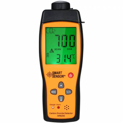 SMART SENSOR Kohlendioxiddetektor, Ar8200