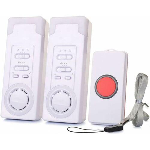 BARES Mobiler Alarm Notruf Knopf Funk Senioren Krankenpflege Hausnotruf