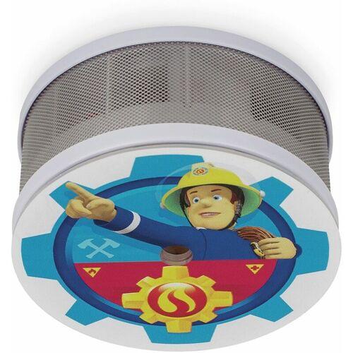 SMARTWARES Mini-Rauchmelder Feuerwehrmann Sam Ø 70 mm, bis zu 10 Jahre