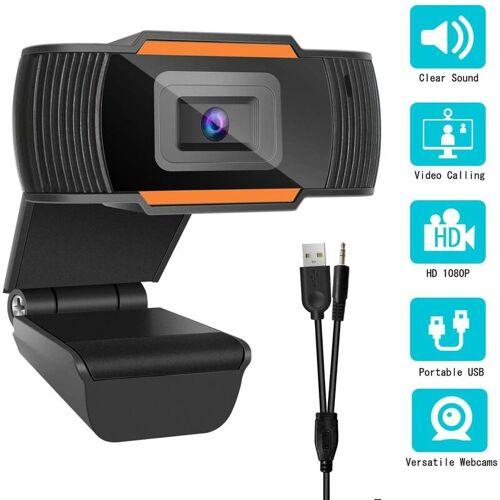 BEARSU 1080P Full HD Webcam Computer PC Laptop Kamera mit Mikrofon für