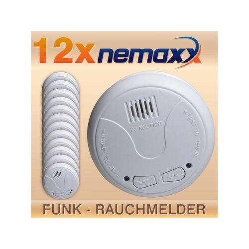 NEMAXX 12x Nemaxx WL2 Funkrauchmelder