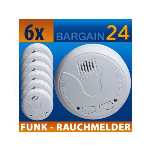 NEMAXX 6x WL2 Funkrauchmelder - Nemaxx