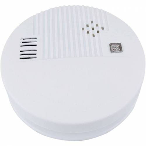 BEMATIK Autonome Rauchmelder mit LED-Anzeige und Alarm - Bematik