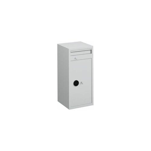 CERTEO Einwurftresor - mit Einwurfklappe - Außen-HxBxT 1000 x 460 x 460 mm,