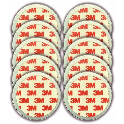 Jeising 10er Set Magnethalter für Rauchmelder - CO Melder