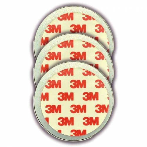 JEISING 3er Set Magnethalter für Rauchmelder - CO Melder selbstklebend,