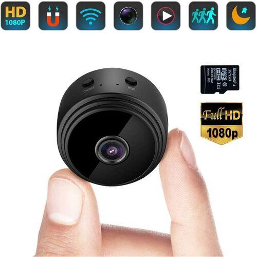 BRIDAY Mini-Spionagekamera Verstecktes WiFi Kleines Video HD 1080P