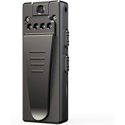 Bearsu - Mini tragbare Spionagekamera, 1080P Wireless Spy Cam Nanny