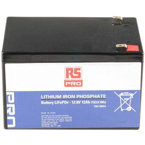 RS PRO Lithium-Eisen-Phosphat Akkupack 12.8V / 12Ah, T2-Anschluss