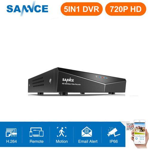 SANNCE Überwachungskamerasystem 4/8 / 16CH 720P mit DVR 5 in 1 - 0 TB