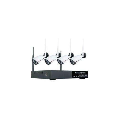 V-tac VT-5188 Kabelloses Kamerasystem – 4 Kameras + NVR – 1080P – IP65